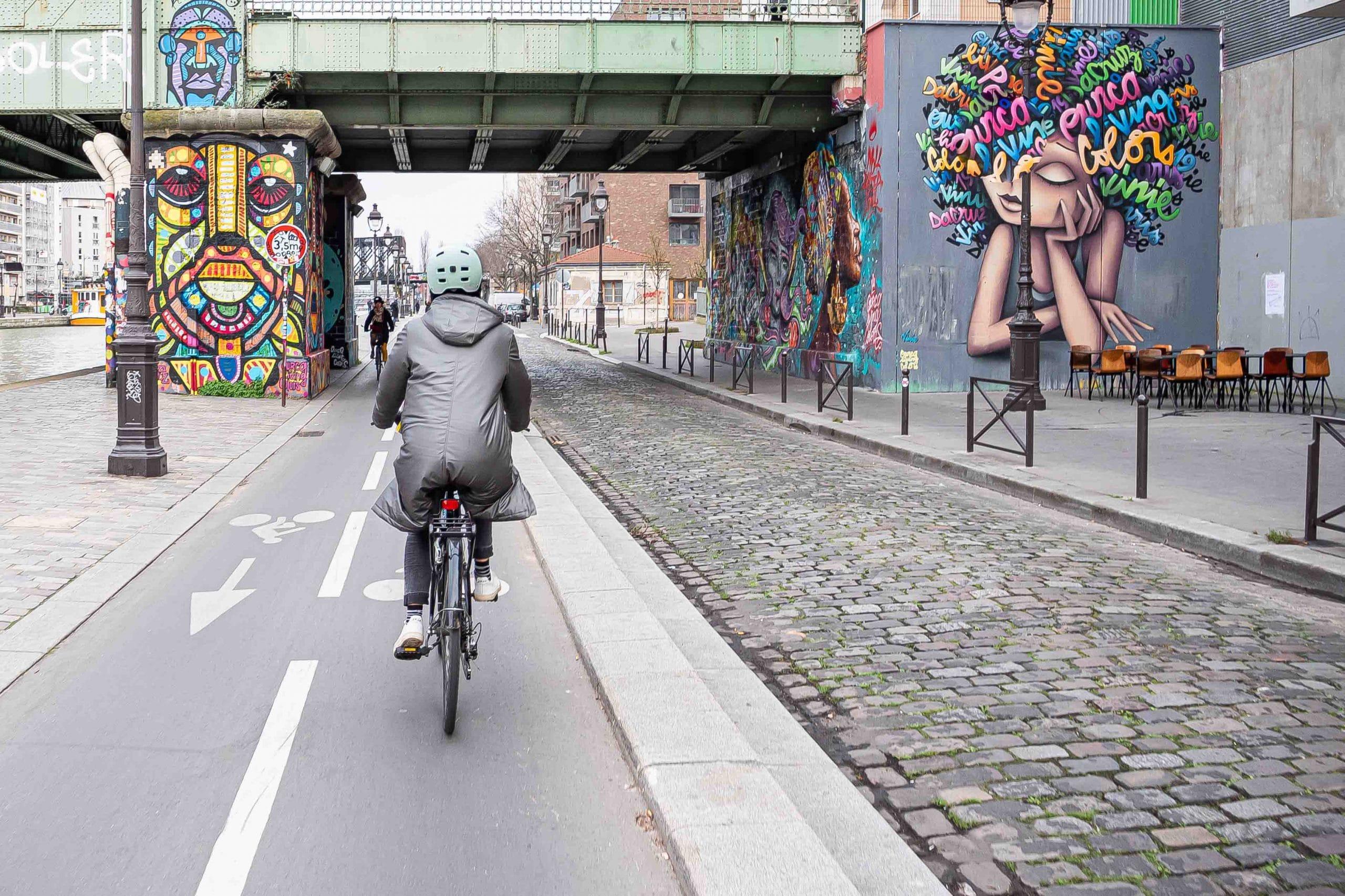 Canal ourcq à vélo